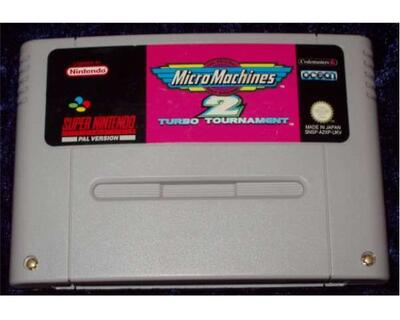 Micro Machines 2 (SNES)