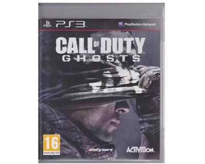 Call of Duty : Ghosts u. manual (PS3)