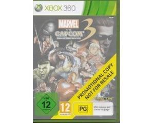 Ultimate Marvel vs. Capcom 3 (promotional copy) u. manual