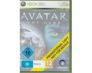 Avatar : The Game (promotional copy) u. manual