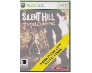 Silent Hill : Home Coming (promotional copy) u. manual