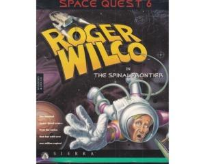Space Quest 6 : Roger Wilco in The Spinal Frontier m. kasse (slidt) (CD-Rom)