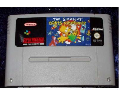 Simpsons, The : Bart's Nightmare (SNES)