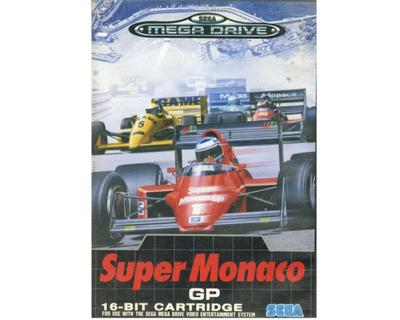 Super Monaco GP m. kasse (dårlig kasse) og manual