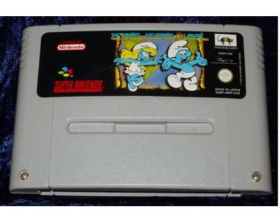 Smurfs, The : Travel the World (SNES)
