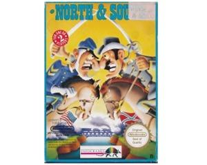 North & South (scn) m. kasse og manual (NES)