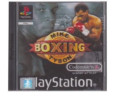 Mike Tyson Boxing u. manual (PS1)