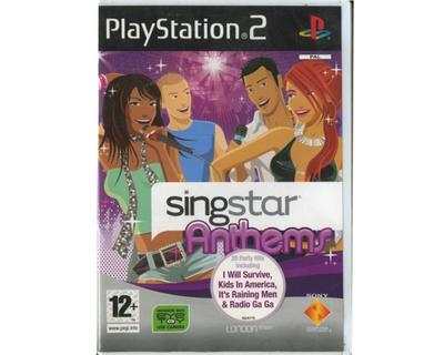 Singstar : Anthems u. manual