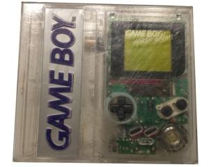 Game Boy (GB) (clear) i plast kasse (special edition)