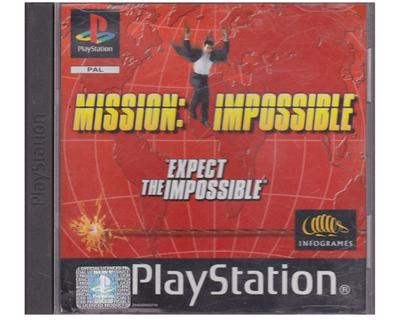 Mission Impossible : Expect the Impossible (tysk kasse og manual)