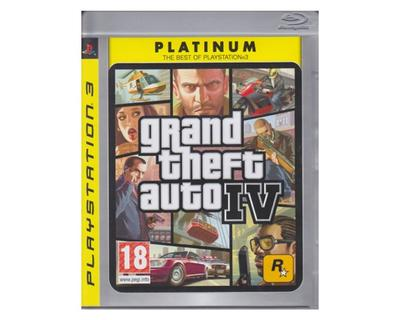 Grand Theft Auto IV (platinum) u. manual