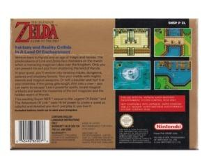 Zelda, The Legend of : A Link to the Past (ukv) m. kasse og manual incl kort