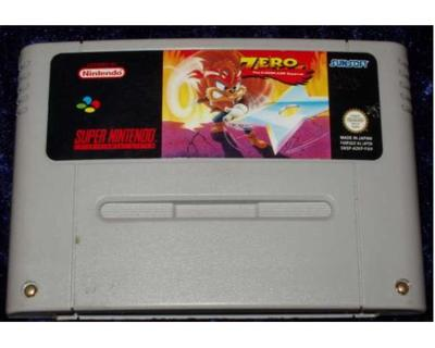 Zero : The Kamikaze Squirrel (SNES)