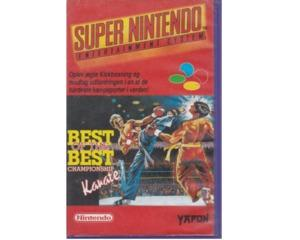 Best of the Best Championship Karate m. lejekasse og vejledning (SNES)