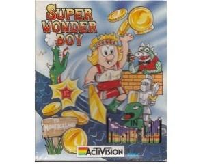 Super Wonderboy in Monsterland m. kasse (slidt) og manual (Amiga)
