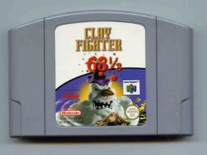 Clay Fighter 63 1/3 (N64)