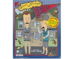 Beavis and Butthead Do U m. kasse og manual (CD-Rom) (forseglet)