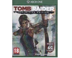 Tomb Raider (definitive edition) (Xbox One)