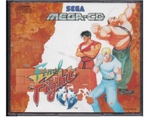 Final Fight CD (Mega-CD) m. kasse og manual