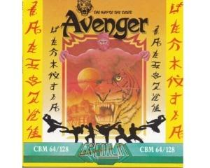 Way of the Tiger, The : Avenger (disk) kun med cover og manual (Commodore 64)