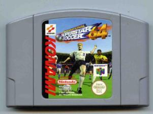 International superstar soccer 64 (N64)