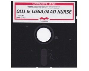Olli & Lissa / Mad Nurse (disk) u. kasse (Commodore 64)