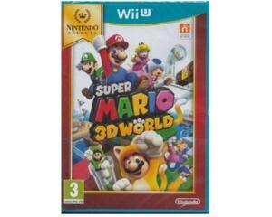 Super Mario 3D World (selects) (forseglet) (Wii U)