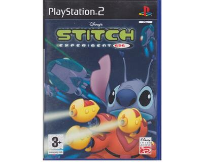 Stitch Experiment 626 u. manual (PS2)