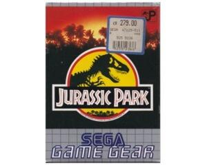 Jurassic Park m. kasse og manual (Game Gear)