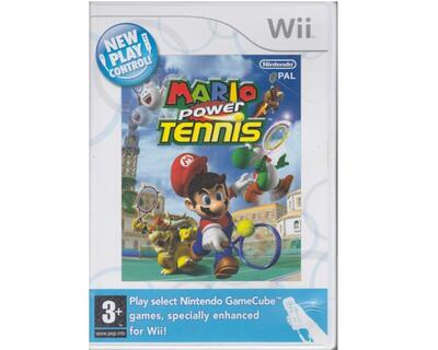 Mario Power Tennis : New Play Control u. manual (Wii)
