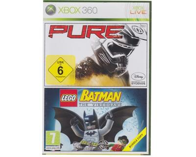 Pure/Lego Batman : The Videogame u. manual (Xbox 360)