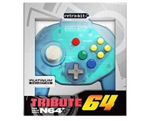 Retro-Bit Tribute 64 (Ocean Blue) (ny vare)