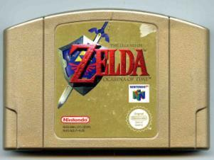 Zelda, The Legend of :Ocarina of Time Collectors edition (N64)