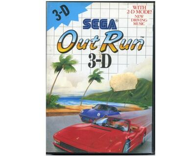Out Run 3D m. kasse og manual (SMS)