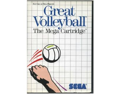 Great Volleyball m. kasse og manual (SMS)