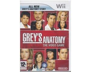 Grey's Anatomy : The Video Game u. manual (Wii)