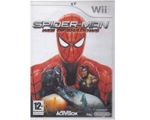 Spiderman : Web of Shadows u. manual (Wii)