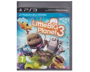 Little Big Planet 3 u. manual (PS3)