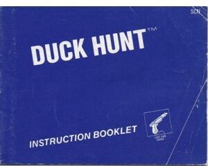 Duck Hunt (slidt) (SCN) (Nes manual)