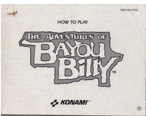 Bayou Billy, The Adventures of (slidt) (FRA) (Nes manual)