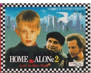 Home Alone 2 : Lost in New York (FRA) (Nes manual)