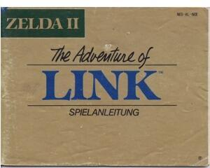 Zelda II : The Adventures of Link (slidt) (NOE) (Nes manual)