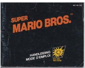 Super Mario Bros. (HOL) (Nes manual)