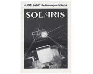 Solaris (tysk) (Atari 2600 manual)