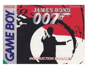 James Bond (UKV) (GameBoy manual)