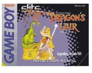 Dragons Lair (SCN) (GameBoy manual)