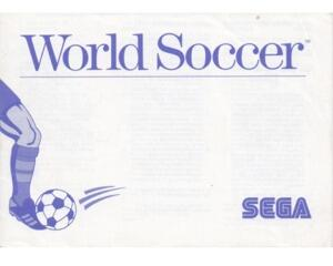 World Soccer (SMS manual)