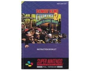Donkey Kong Country 2 (scn) (Snes manual)
