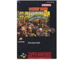 Donkey Kong Country 2 (scn) (slidt) (Snes manual)