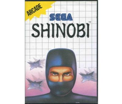 Shinobi m. kasse og manual